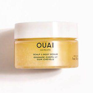 New mini OUAI scalp & body scrub